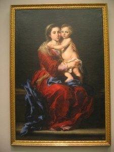 Murilloの「ロザリオの聖母」