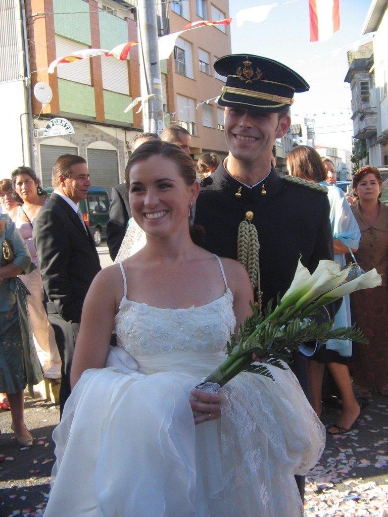 MaríaとFranの結婚式