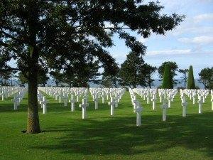兵士達の眠る墓地