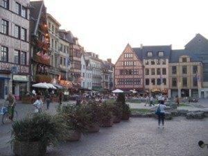ルーアンの広場