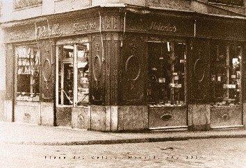 1939年当時のお店。
