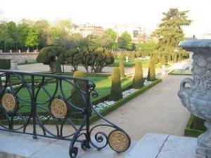 フランス式庭園。