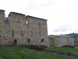 廃墟の修道院。
