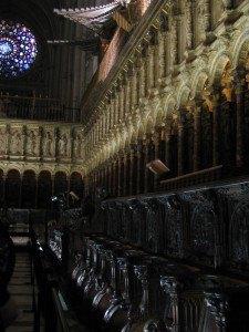 大聖堂内部。ここまで立派な大聖堂はなかなかありません。