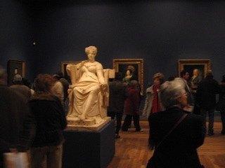 以前はなかったスペインのアーティストを集めた部屋も完成。
