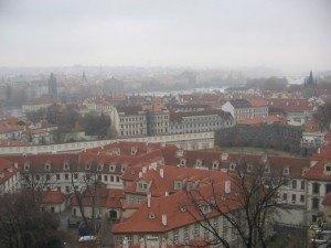 プラハの街並み。