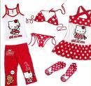 下着やパジャマに多いのがちょっと驚きのキティちゃん。