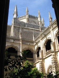 トレドの有名な修道院の一つ。