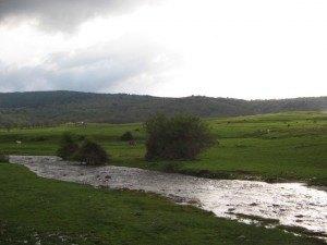 Valsaínののどかな風景。