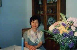 アメリカでの卒業式に来てくれた時の母