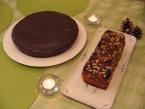 秋はケーキの季節。チョコレートケーキに挑戦。