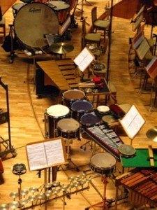 打楽器の数々