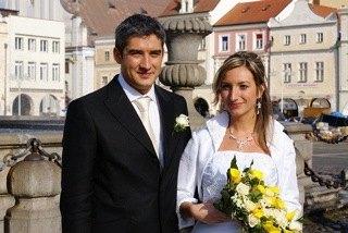 チェコでのシャルカとパコの結婚式の様子