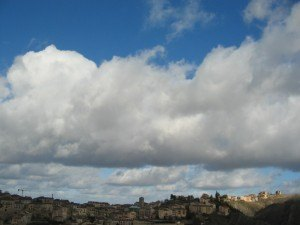 セゴビアの広い空