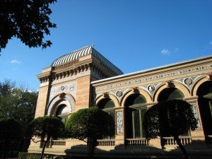 レティロ公園の中の建物Casa de Velázquez