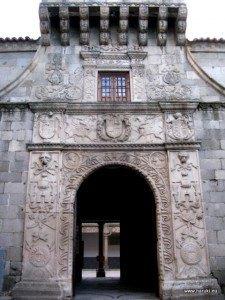 16世紀に立てられた宮殿兼アカデミー。現在は陸軍の古文書保管センターです。