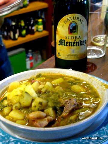 イースターの時期にいただくマメとタラを煮込んだ料理。Potage de Vigiliaと呼ばれます。
