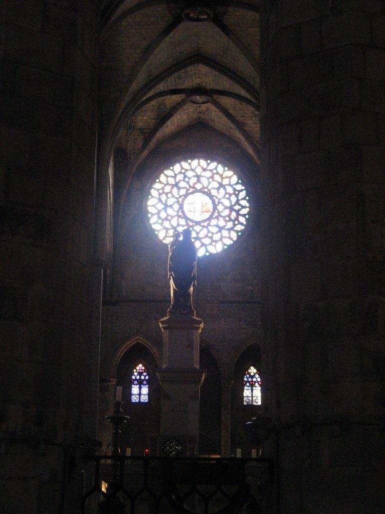 """バルセロナにある大聖堂。ベストセラーの""""La Catedral del Mar""""の舞台として知られています。"""