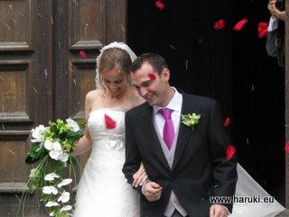 心温まる素敵な結婚式でした