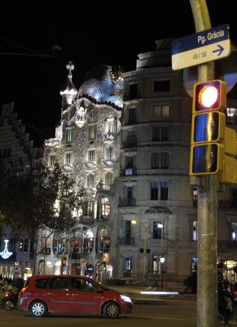 夜のバトリョ邸
