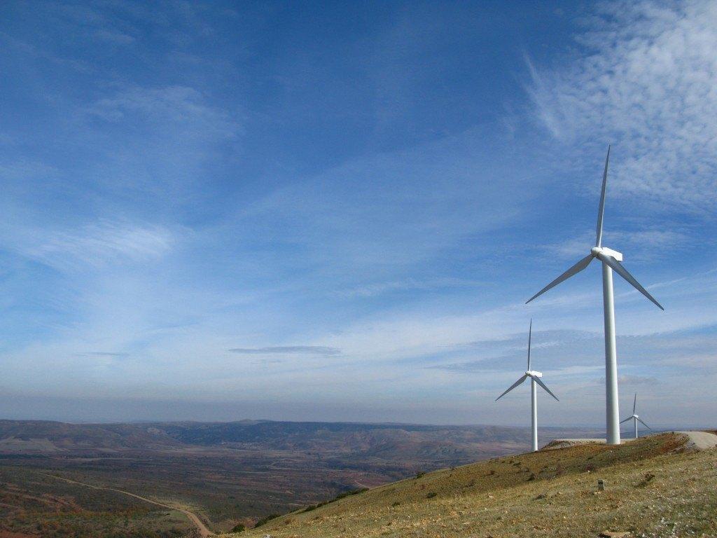 カスティーヤ・イ・レオン州の風力発電