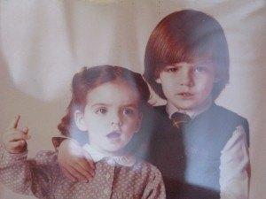 美術館の中には、Torrents Lladóの子供時代の写真も置いてありました。