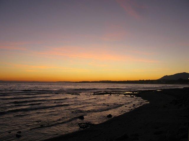 マルベヤの海岸の遊歩道からの景色。日々の散歩が楽しみでした。