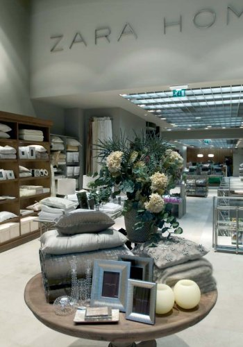 店内の様子。http://www.leadingbrandsofspain.com/fashion/zara-home/より。