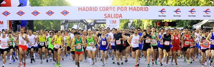 マラソン開始の様子。http://www.mapoma.es/より。