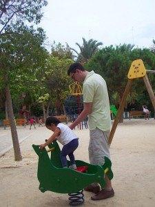 やはり公園遊びは欠かせません。