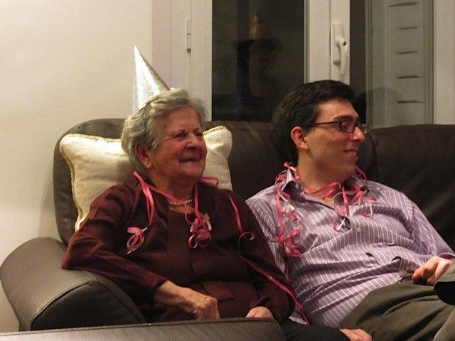 新年を迎えて。ひいおばあちゃまも嬉しそうです。