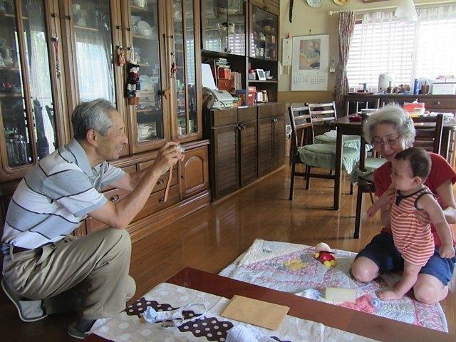 おじさんとおばさんの家に宿泊。本当にお世話になりました。