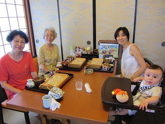 浜松で叔母二人と一緒にランチ。