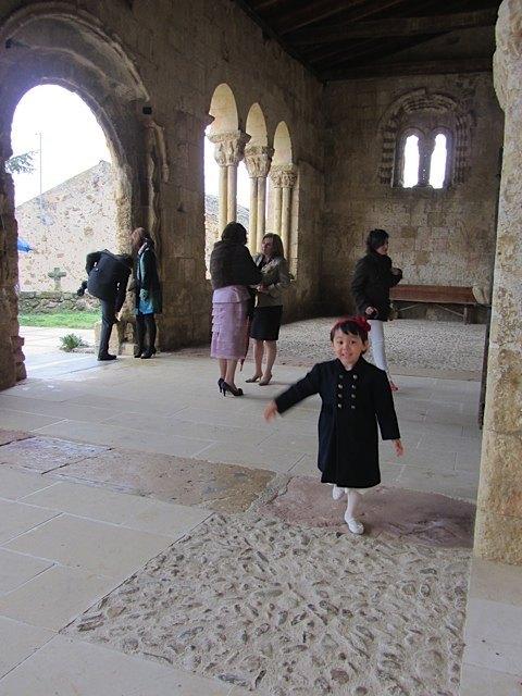 教会の入口。
