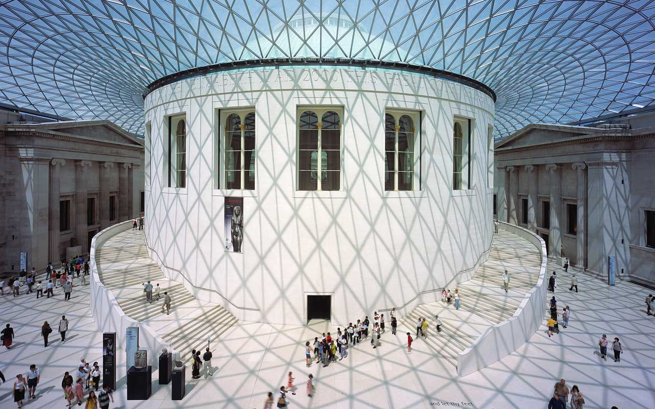 British Museum。www.fosterandpartners.comより。