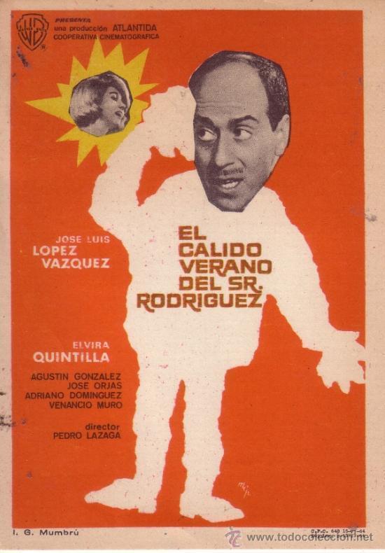 「ロドリゲス氏の暑い夏」。http://www.filmaffinity.com/en/film108392.htmlより。