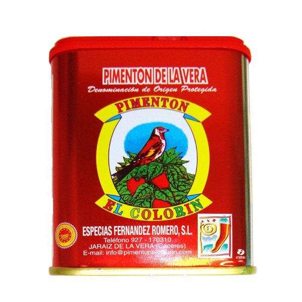 Pimentón de La Veraと言えばこの缶でしょうか。