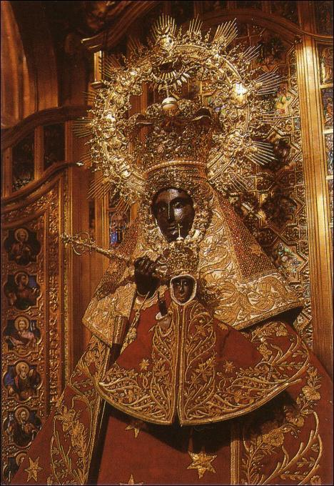 グアダルーペの聖母。http://www.jdiezarnal.com/monasteriodeguadalupe.htmlより。