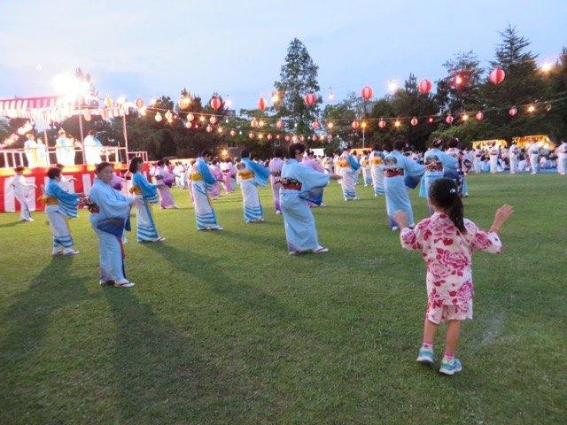 金沢の夏祭。